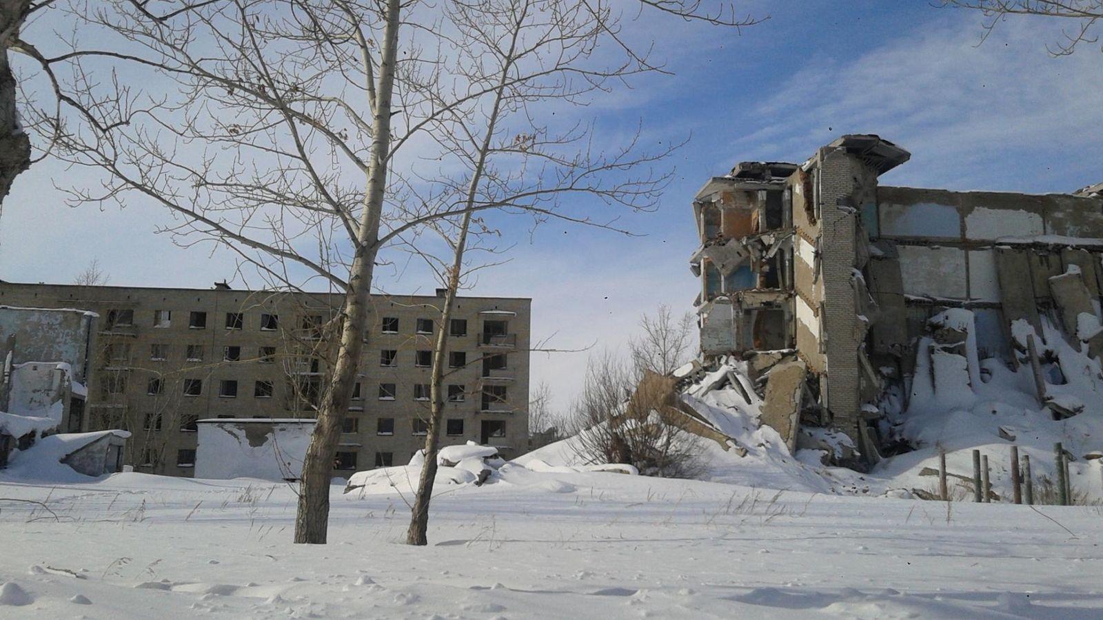 Foto: A 500 kilómetros de la capital y cerca de una mina abandonada, algo extraño ocurre en Kalachi. (Joanna Lillis/EurasiaNet.org)