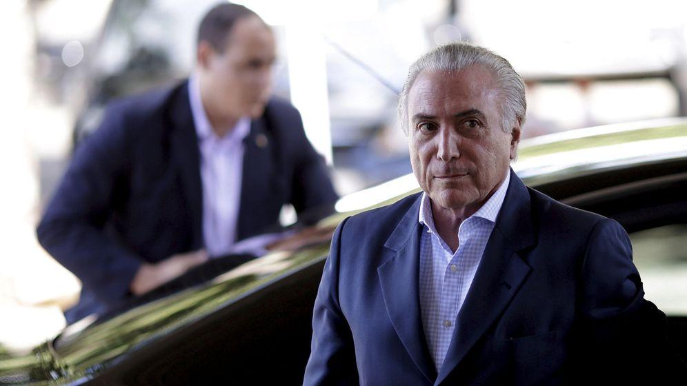 Foto: Michel Temer llega al Palacio Planalto, en Brasilia, el 22 de abril de 2016. (Reuters)