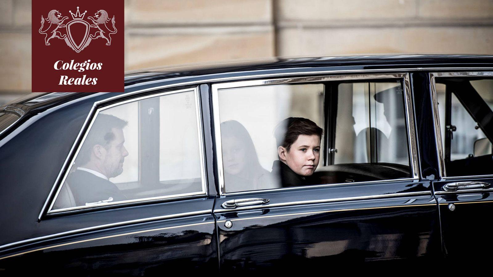 Foto: Christian de Dinamarca camino al colegio. (Reuters)
