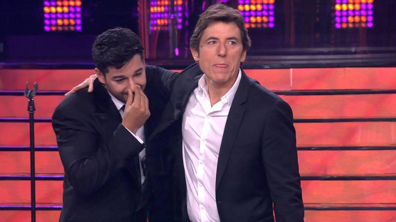 Jorge González y Manel Fuentes, en 'Tu cara me suena'. (Antena 3)