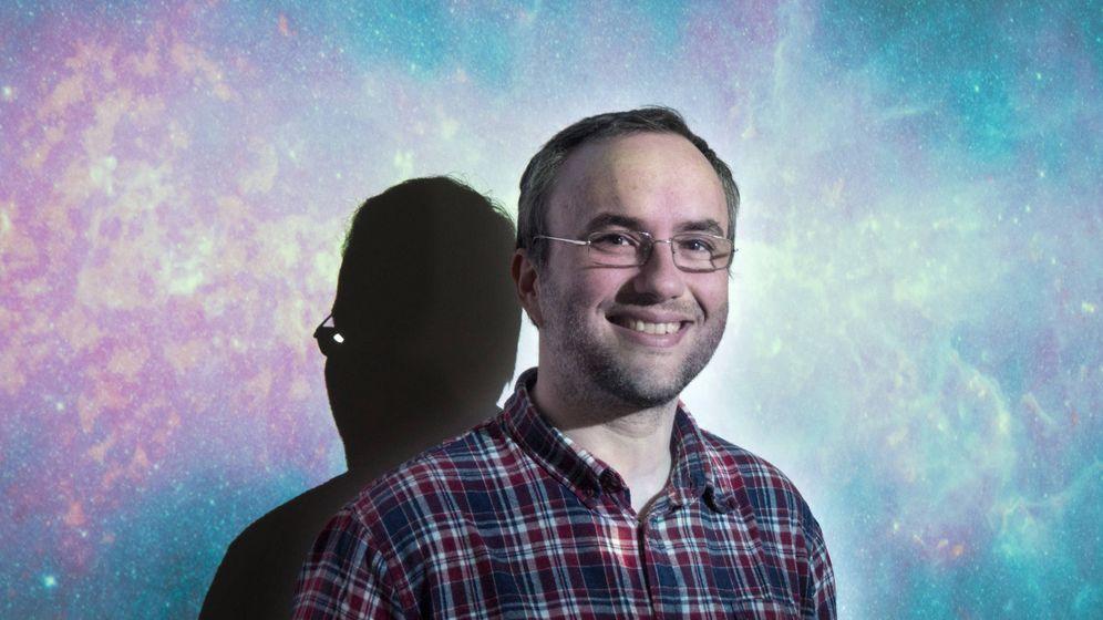 Foto: El astrónomo Iván Martí (Cedida)