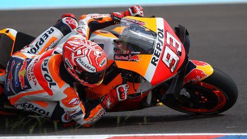 Márquez va sin frenos y aspira a la victoria ante un Jorge Lorenzo resignado