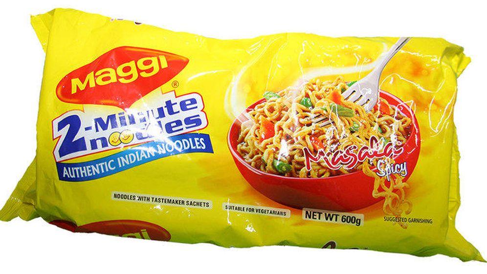 Foto: Un paquete de noodles de Maggi