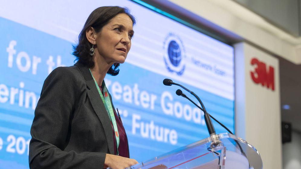 Foto: La ministra Reyes Maroto.