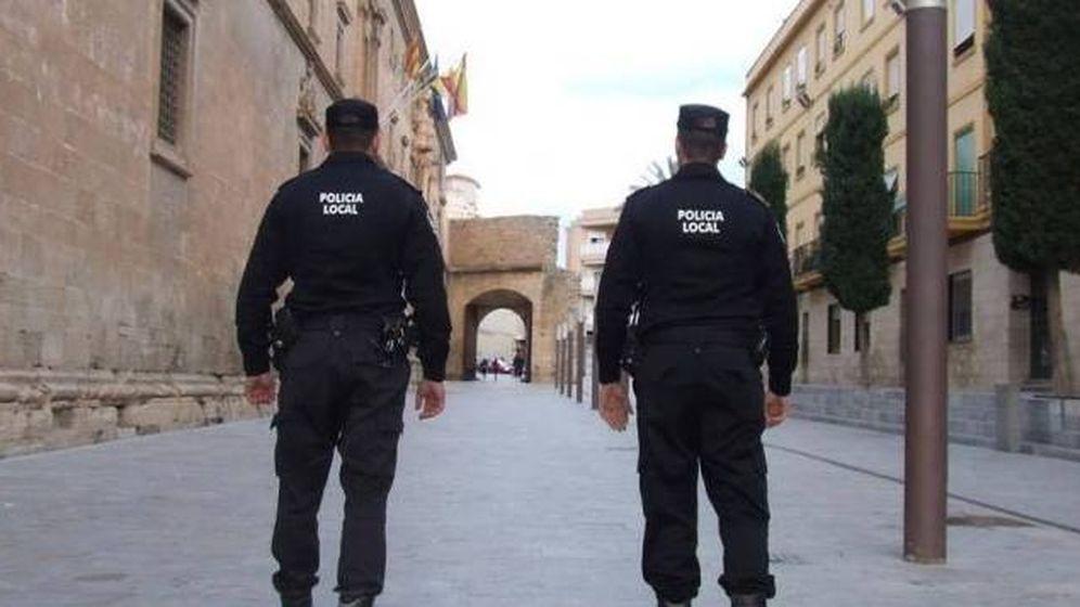 Foto: Agentes de la Policía de Local de Alicante (Policía de Alicante)