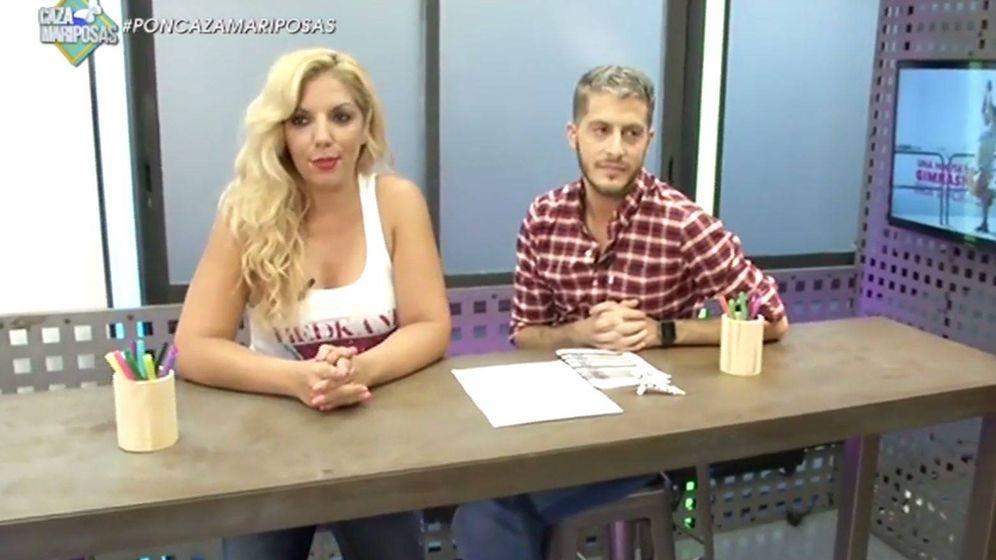 Foto: Rebeca Pous y Nando Escribano en 'Cazamariposas'