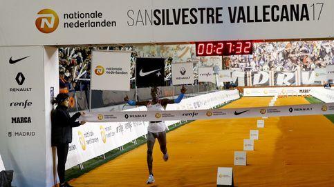 Más de 40.000 corredores despiden el 2017 en la San Silvestre Vallecana