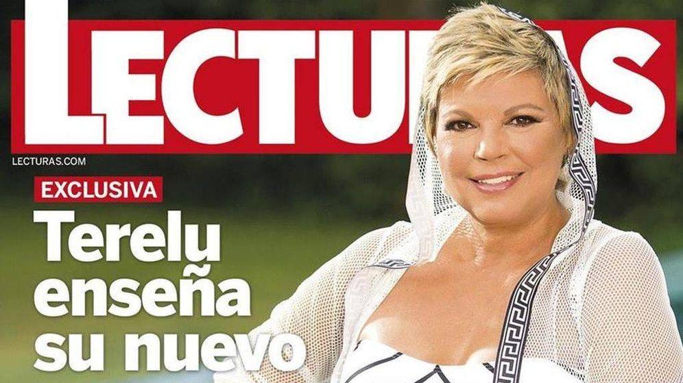 Foto: Terelu Campos, en la portada de la revista 'Lecturas'