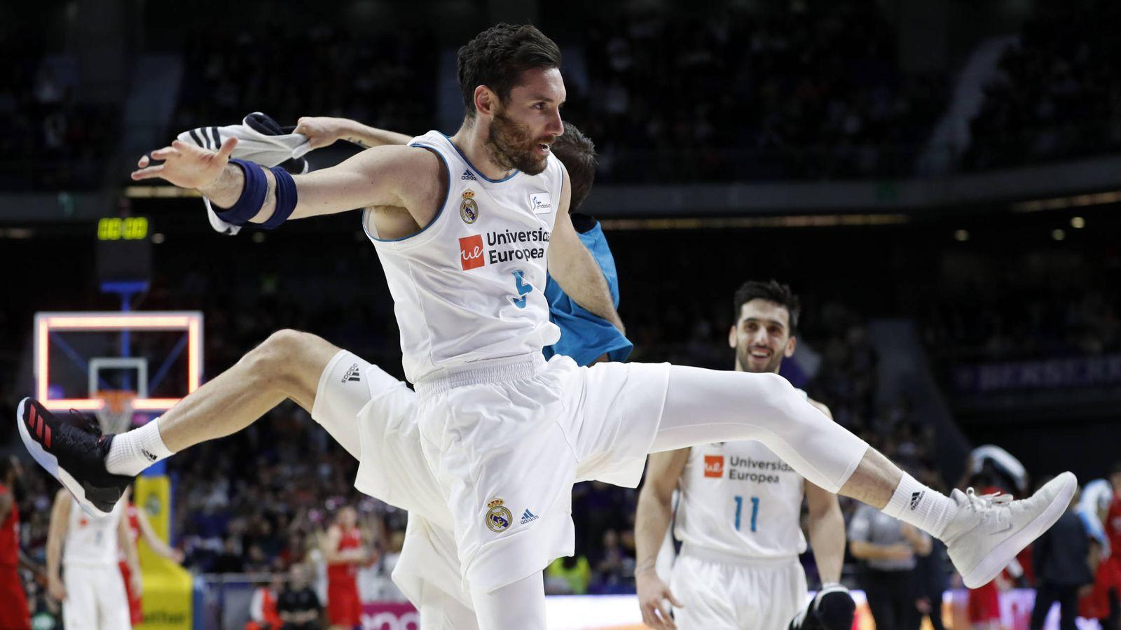 Foto: Rudy Fernández ha metido nueve triples en los dos últimos partidos. (ACB Photo/A. Martínez)