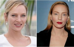 Uma Thurman recupera la polémica sobre la cirugía estética con un rostro nuevo