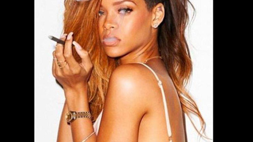 Las procativas fotos de Rihanna