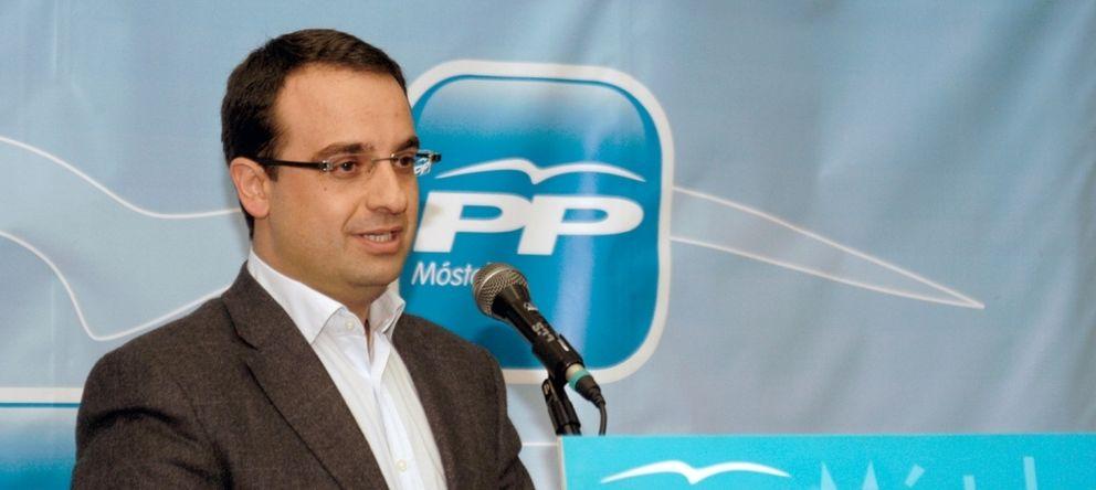 Foto: Daniel Ortiz, alcalde de Móstoles. (Foto: PPMostoles)