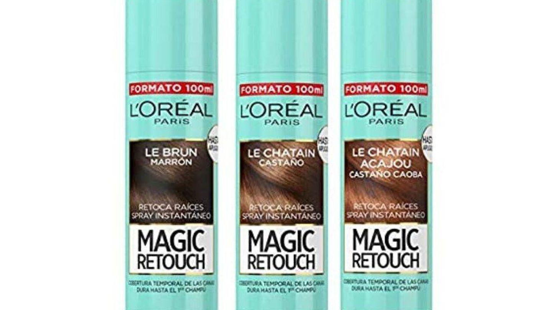 Spray Magic Retouch de L'Oréal. (Cortesía)