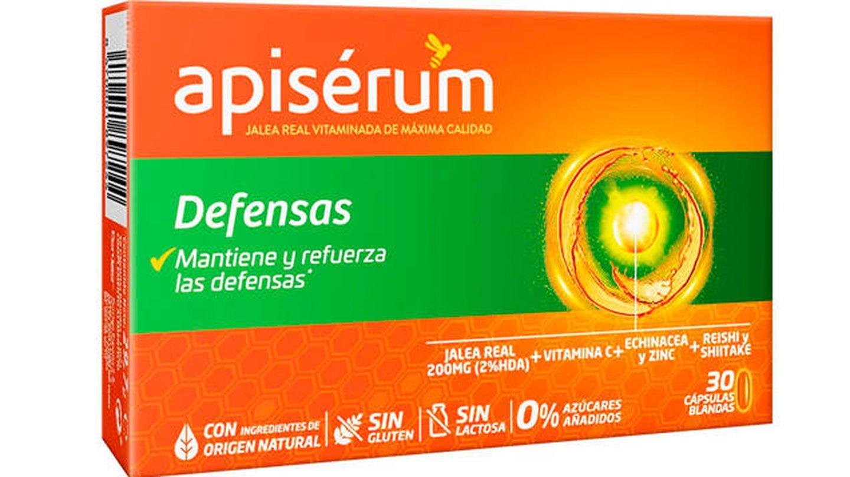 Apisérum para las defensas en cápsulas