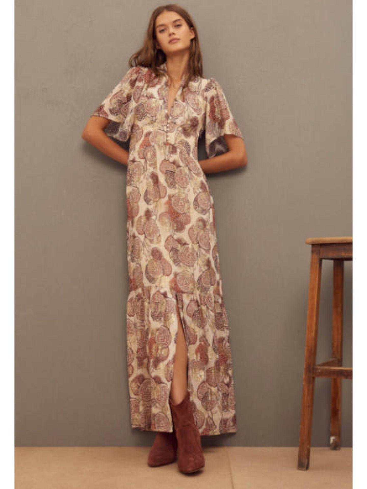 El vestido de Elisabeth. (Cortesía)