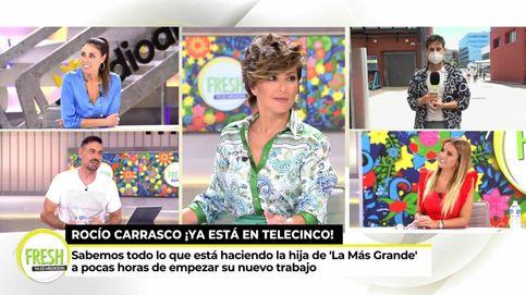 Isabel Rábago se mofa de Marta López tras huir de Rocío Carrasco en Telecinco