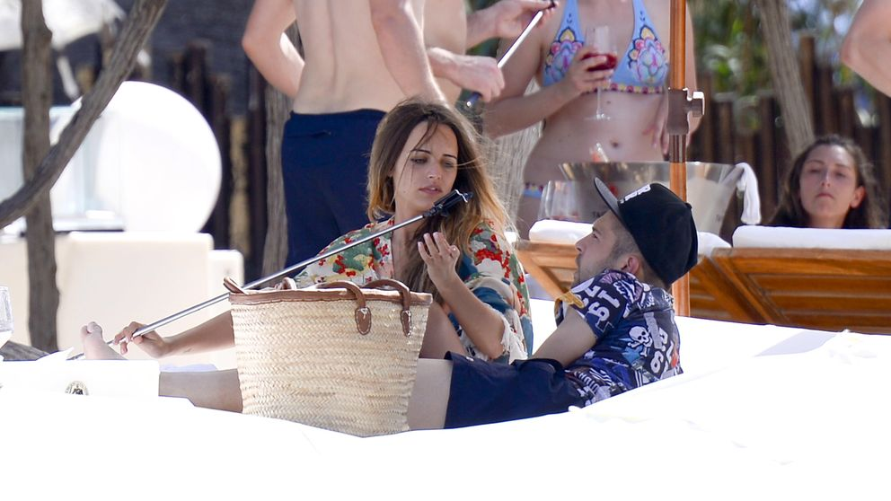 Jordi Alba y Romarey Ventura ya disfrutan de sus primeras vacaciones como pareja