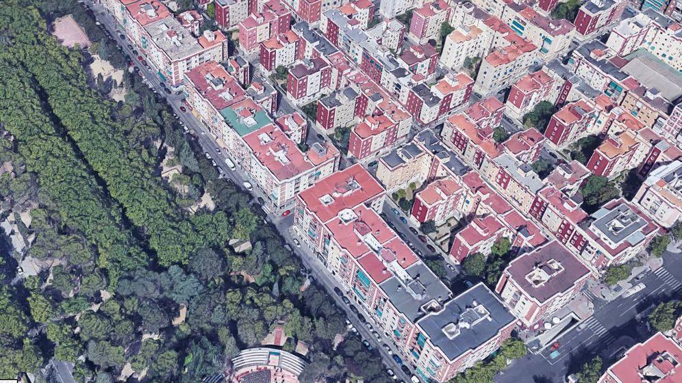 Foto: Calle Virgen de Nuria de Madrid (Google)