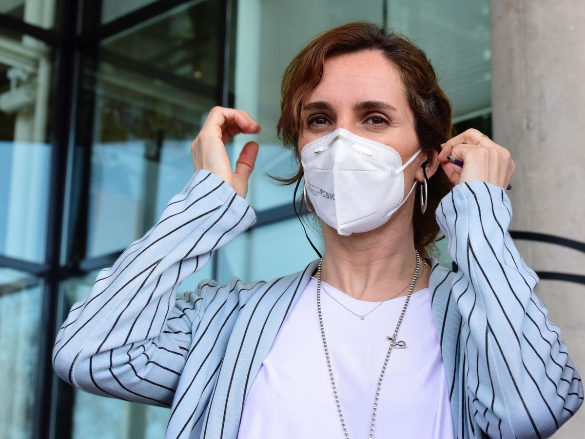 Foto: La candidata a la Comunidad de Madrid Mónica García (EFE)