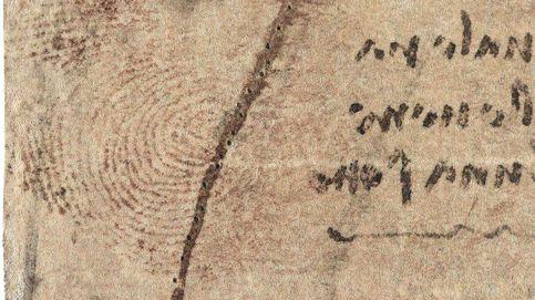 Encuentran una huella de Da Vinci en uno de sus dibujos: Parece deliberada