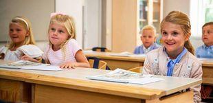 Post de Estelle de Suecia, alumna aplicada: su tercera clase sobre la historia de la familia real