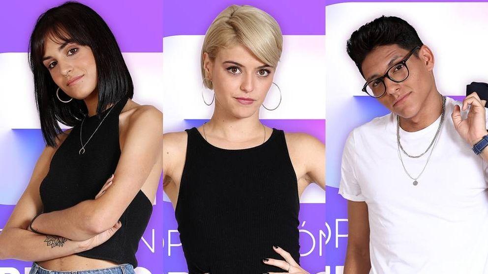 Natalia, Alba Reche y Alfonso, concursantes de 'OT 2018'