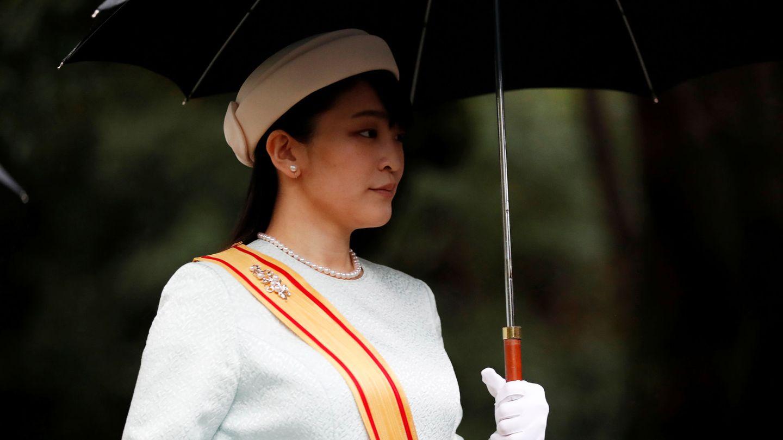 Mako, a su llegada a la entronización del emperador en octubre de 2019. (Reuters)