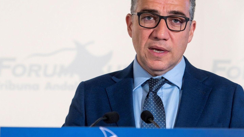 El consejero de Presidencia, Administración Pública e Interior de la Junta, Elías Bendodo. (EFE)