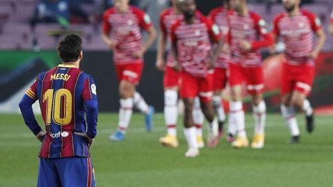 El Granada completa una remontada histórica en el Camp Nou y pone patas arriba LaLiga (1-2)