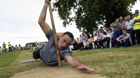 El Salto pasiego, convertido en deporte