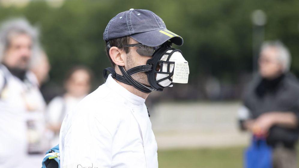 Foto: Manifestación contra las mascarillas y otras restricciones en Alemania. (Reuters)