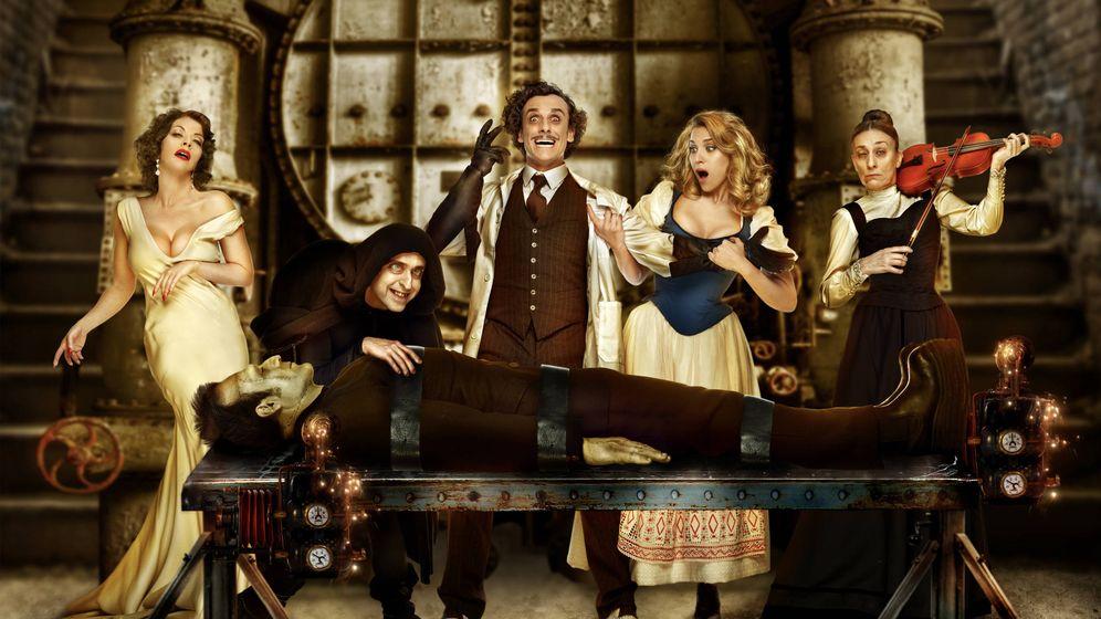 Foto: El musical 'El jovencito Frankenstein', basado en la película de Mel Brooks, se estrena este mes en Madrid.
