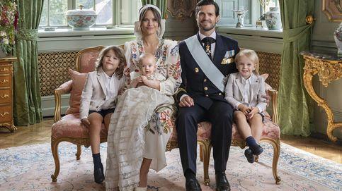 Todos los detalles de las fotos oficiales del bautizo del príncipe Julian de Suecia