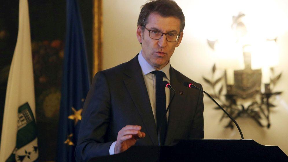 Foto: El Presidente de la Xunta de Galicia, Alberto Núñez Feijoo. (EFE)