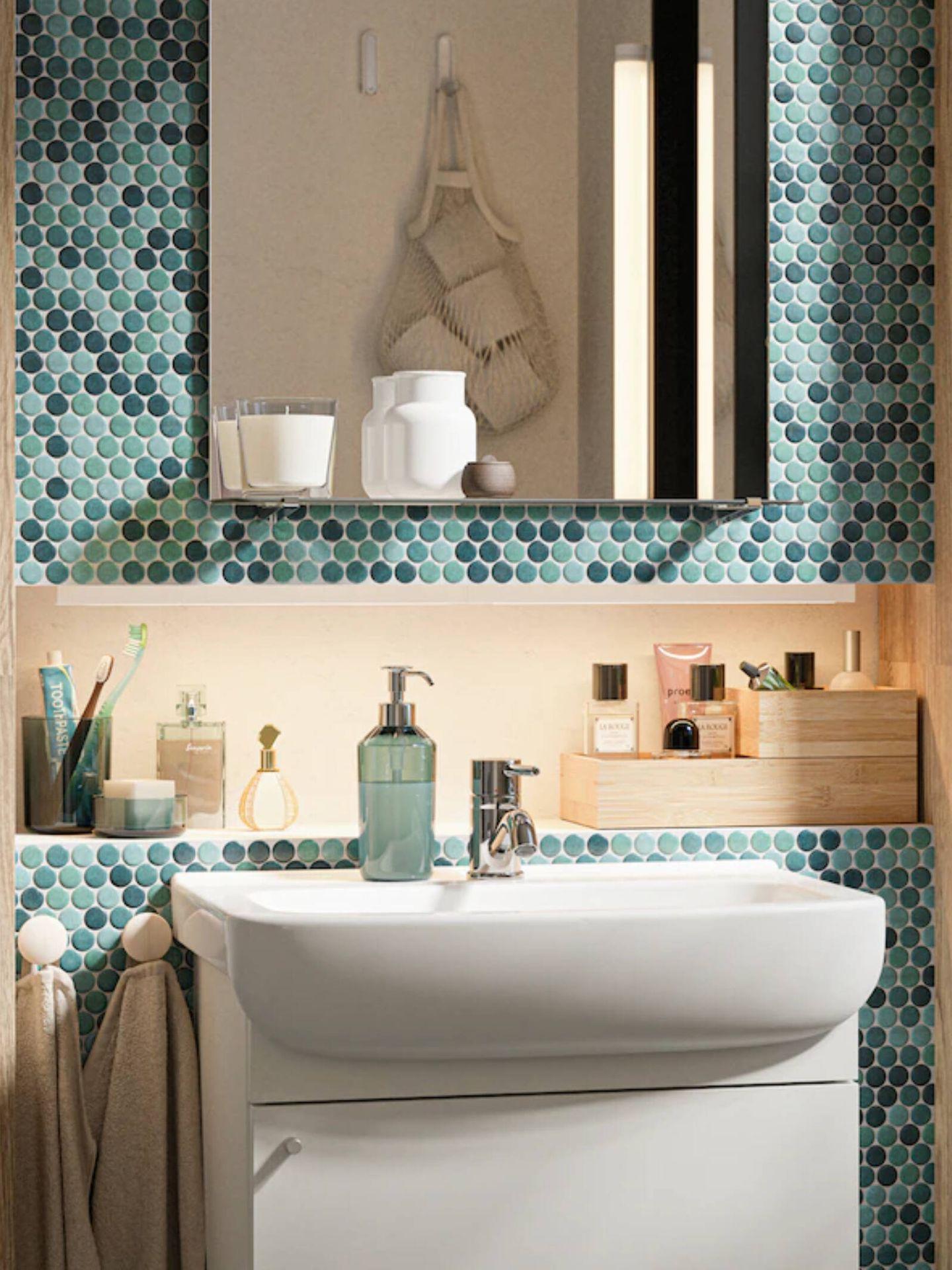 Ideas de Ikea para un baño genial. (Cortesía)