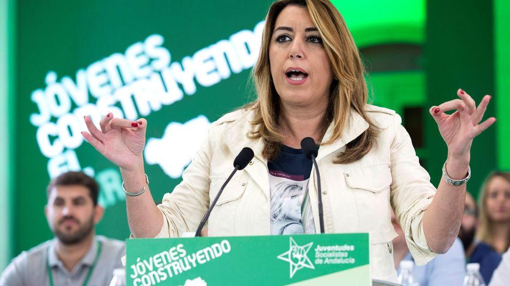 Foto: La presidenta de la Junta andaluza, Susana Díaz. (EFE)