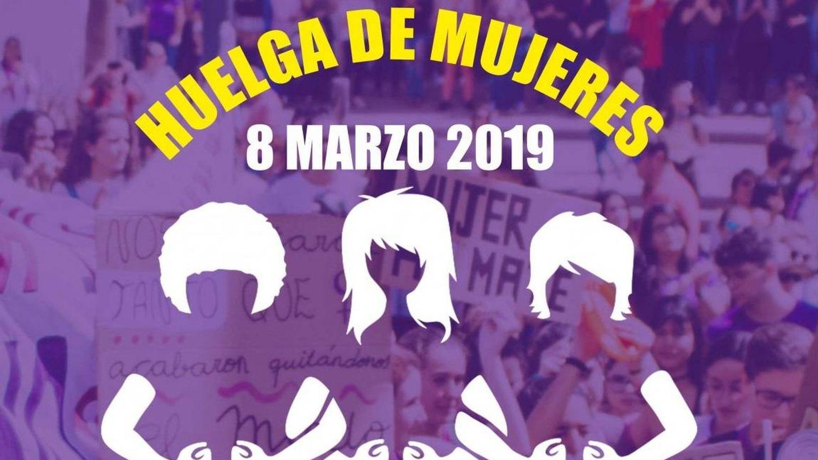 Foto: Huelga feminista del 8 de marzo de 2019 (Coordinadora Feminista)