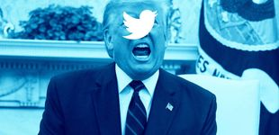 Post de Twitter vuelve a ocultar un mensaje de Trump por