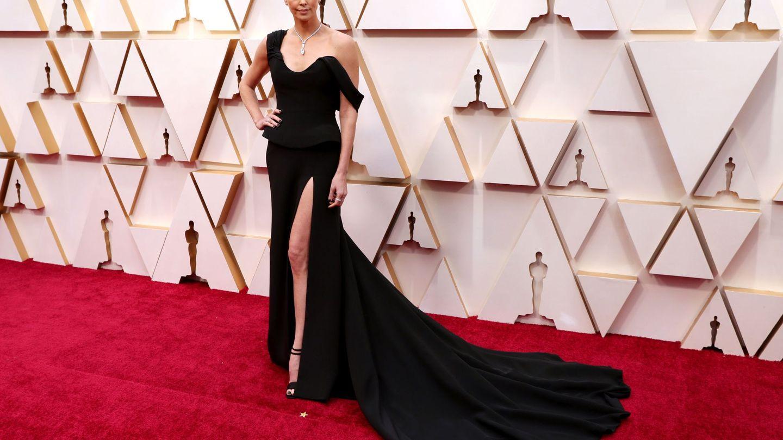 Charlize Theron, vestida de Dior. (EFE)