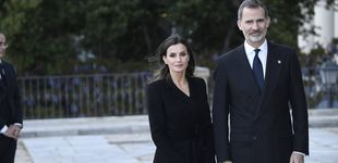 Post de Felipe y Letizia presiden el funeral de Pérez-Llorca: acudieron Rajoy y todo el Madrid legal