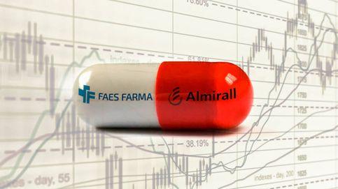 Faes y Almirall, cara y cruz de la semana grande de resultados en la bolsa española