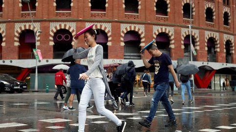 Más de la mitad de España, en alerta por fuertes lluvias y tormentas