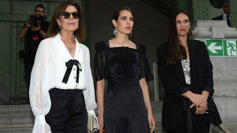 De Carolina y Carlota a Brigitte Macron: nadie quiso perderse el homenaje a Lagerfeld