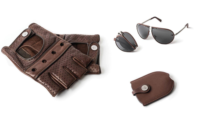 Foto: Guantes de conducir, gafas de sol plegables y un llavero protagonizan la colección de Zegna y Maserati.
