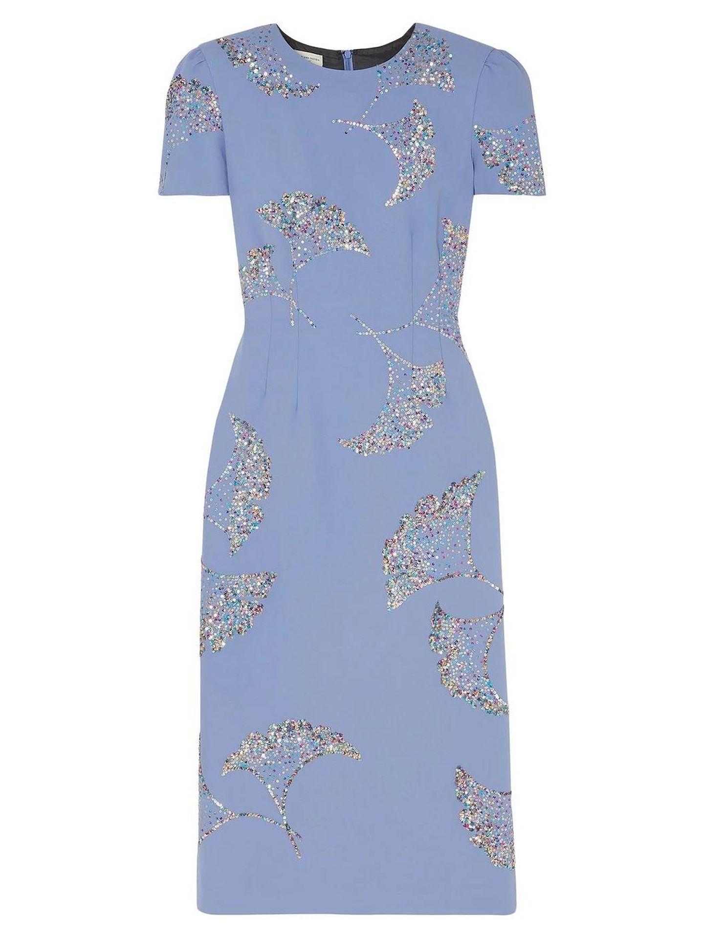 El vestido escogido por Carolina de Mónaco. (Dries Van Noten)
