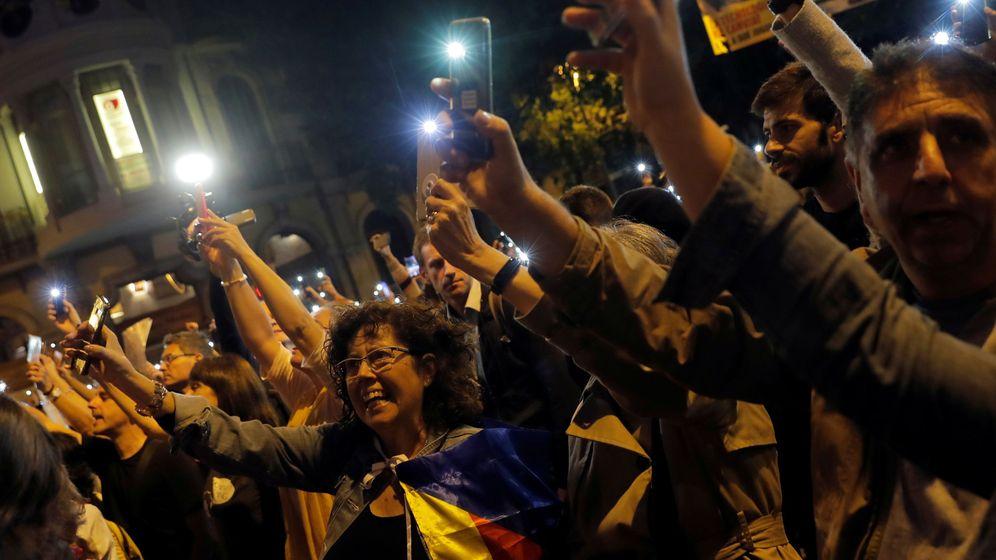 Foto: Imagen de las protestas independentistas del domingo. (Reuters)