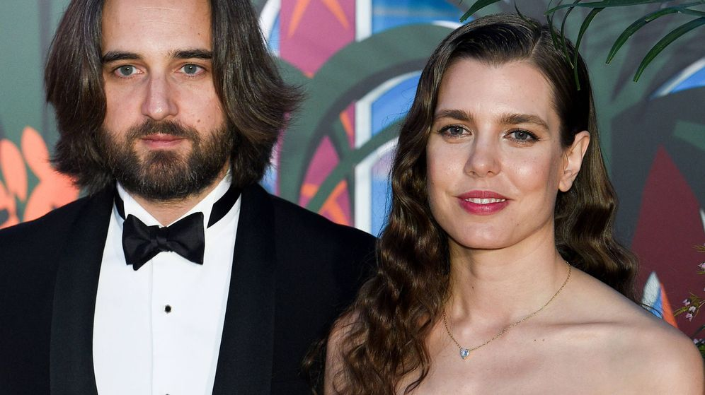 Foto: Carlota Casiraghi y Dimitri Rassam, en una imagen de archivo. (Getty)