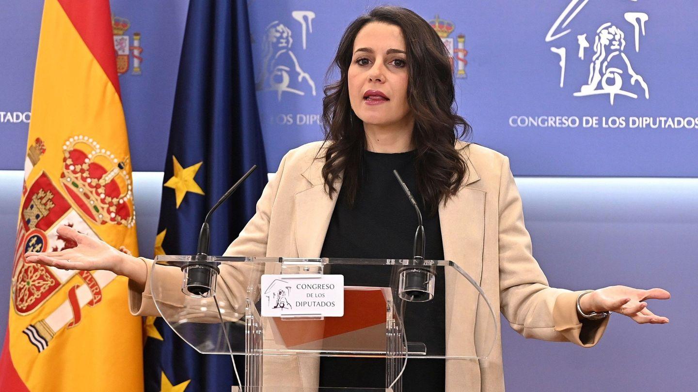 La portavoz de Ciudadanos en el Congreso de los Diputados, Inés Arrimadas. (EFE)