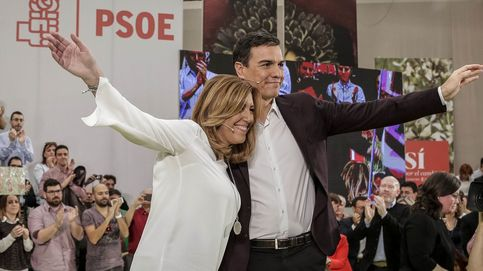 Susana Díaz y Pedro Sánchez firman la tregua para las elecciones del 26-J