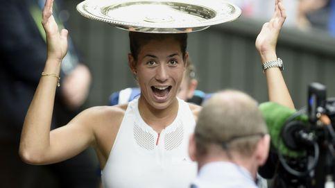Las mejores imágenes de la gran final femenina de Wimbledon